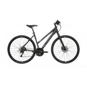 Serious Tenaya Hybrid hybride fiets Dames zwart Hybride fietsen Dames