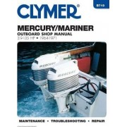 Mercury 3.9-135 HP Outboards, 1964-1971: Outboard Shop Manual by Clymer Publications