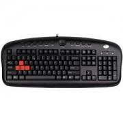 Геймърска клавиатура A4tech KB-28G-1 черна, USB - A4-KEY-KB28G-1