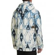 Burton Fremont Printed Snowboard Jacket - Waterproof INDIGO BATIK (01)