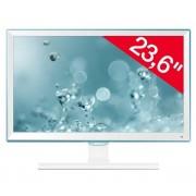 Écran SE391 Series S24E391HL - LED - 24' - 1920 x 1080 - Plane to Line Switching (PLS) - 250 cd/m2 - 1000:1 - 4 ms - HDMI, VGA - blanc ultra brillant
