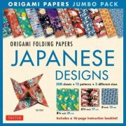 Origami Folding Papers Jumbo Pack: Japanese Designs by Tuttle Publishing