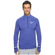 Nike Element Sphere Half-Zip Binary BlueHeatherReflective Silver