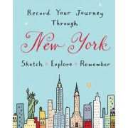 New York City Guided Activity Journal by Galison