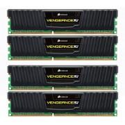 Mémoire PC Vengeance LP 4 x 4 Go DDR3-1600 - PC3-12800 - CL9 (CML16GX3M4A1600C9)