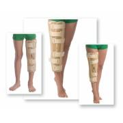 Orteză de genunchi cu fixare suplimentară (atele rigide), Cod 6112 S/M