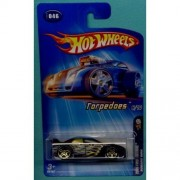 SUBARU WRX Hot Wheels 2005 First Editions Torpedoes Series 6/10 Subaru WRX 1:64 Scale Collectible Die Cast Metal Toy Car Model #46 by Hot Wheels