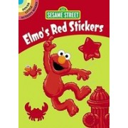 Sesame Street Elmo's Red Stickers [With Sticker(s)]