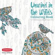 Derwent Unwind in the Wilds - Libro para colorear
