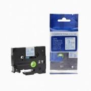 Brother TZ-223 / TZe-223, 9mm x 8m, modrý tisk / bílý podklad kompatibilní