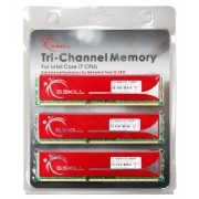 G.Skill DDR3 6GB PC1600 CL9 KIT (3x2, F3-12800CL9T-6GBNQ) Kit Memoria