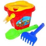 Детски комплект с кофичка за пясък, 2 цвята, Polesie, 411025