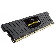 Corsair CML8GX3M1C1600C9 Vengeance LP Kit di Memoria da 8 GB, 1x8 GB DDR3L Low Voltage, 1600 MHz, CL9 XMP Performance, Nero