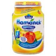Hame Gustare bebelusi 190 g Happy Fruit 100% Mere, piersici si banane de la 4 luni