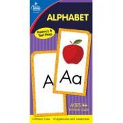 Alphabet Flash Cards, Ages 4 - 7 by Carson-Dellosa Publishing