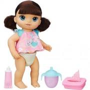 Boneca Baby Alive Fralda Mágica Morena - Hasbro