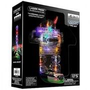Light Up Building Construction Set - Laser Pegs - Robots (20 Lighted Pieces)