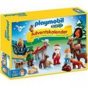Комплект Плеймобил 5497 - Коледен календар - Коледа в гората - Playmobil, 291115