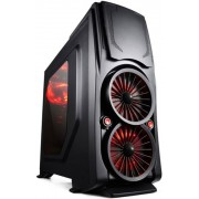 Carcasa Game Daemon 6004 + Ventilator Segotep Polar Wind 120mm (LED Albastru)