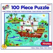 Galt Toys - Pirati Puzzle, Multicolore (100-Piece)