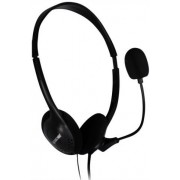 Casti cu Microfon Spacer SPK-223 (Negru)