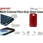 Promate Nitro.Red Multi-Colored Flexi-Grip Designed Case For Samsung Galaxy Note 2.