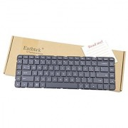 Eathtek Replacement Keyboard without Frame for HP Pavilion DV6-3000 DV6-3100 DV6-3200 DV6t-4000 DV6t-3000 DV6t-3100 DV6t-3200 DV6Z-3000 DV6Z-3100 593296-001 622574-001 series Black US Layout