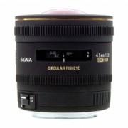 Sigma 4,5mm f/2.8 EX DC FISHEYE circular - Nikon AF-D DX