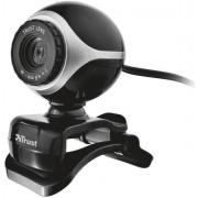 Cameră web Trust Exis 17003, negru-argintiu