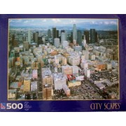Sure-Lox City Scapes Los Angeles California 500 Piece Jigsaw Puzzle