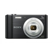 Sony W800/B 20 MP Digital Camera (Black)