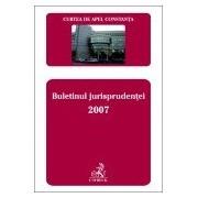 Curtea de Apel Constanta. Buletinul Jurisprudentei 2007.