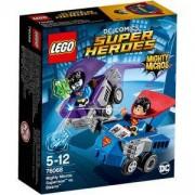 Конструктор Лего Супер Хироус - Mighty Micros: Супермен срещу Бизаро - LEGO Super Heroes, 76068
