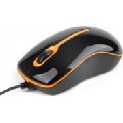 Mouse GEMBIRD MUS-U-004-O USB Black Orange