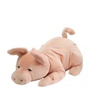 Gund Wiggles Snoring Pig Animated Stuffed Animal Plush