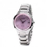 Citizen Silver Stainless Steel Round Dial Analog Watch For Women (EO1150-59W)