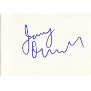 Jerry O'Connell Autographed Index Card