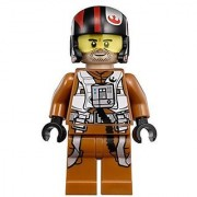 LEGO Star Wars: The Force Awakens Poe Dameron X-Wing Pilot Minifigure