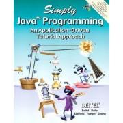 Simply Java Programming by Harvey M. Deitel