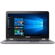 Laptop Asus VivoBook TP501UQ-DN008T 15.6 inch Full HD Touch Intel Core i7-6500U 4GB DDR4 1TB HDD nVidia GeForce 940MX 2GB Windows 10 Grey