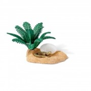 Set figurine schleich cuib de crocodil 42250