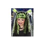 Halloween boszi paróka (zöld)