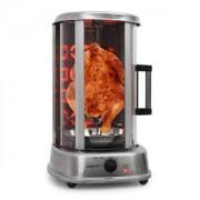 oneConcept Kebap Master Pro vertikális grillsütő,1500 W,acél (GQ3-KEBAPMASTERPRO)