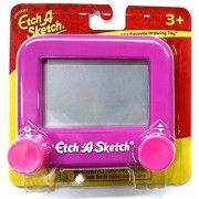 Ohio Art Pocket Etch A Sketch (Purple with Pink Knobs) Color: Purple with Pink Knobs Model: Toys & Games for Kids & Child