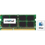 Memorie Laptop Crucial SO-DIMM, DDR3L, 4GB @1600MHz, CL11, 1.35V, pentru Mac