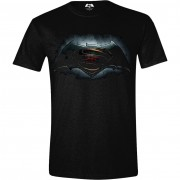 Batman v Superman - Logo Men T-shirt - Black, Size XL