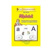 Alfabetul-planse pentru recunoasterea sunetelor si invatarea literelor-set 31 de planse, format A4.
