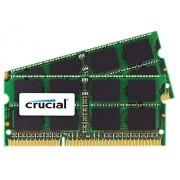 Crucial Kit Memoria per Mac da 4 GB (2 GBx2), DDR3, 1333 MT/s, (PC3-10600) SODIMM, 204-Pin - CT2C2G3S1339MCEU