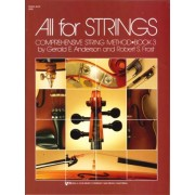 All For Strings Book 3 String Bass by Robert Frost