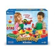 Learning Resources Pretend & Play® Kitchen Set - Recurso educativo